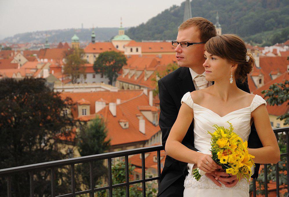 Autorův svatební den